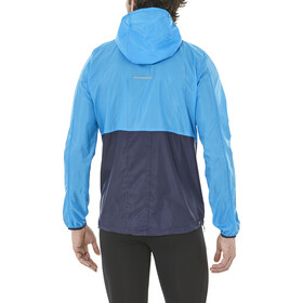 asics Packable Running Jacket Men blue